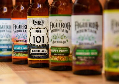 Figueroa Mountain Beer Labels by All American Label