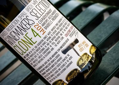 Small Batch Wine Label