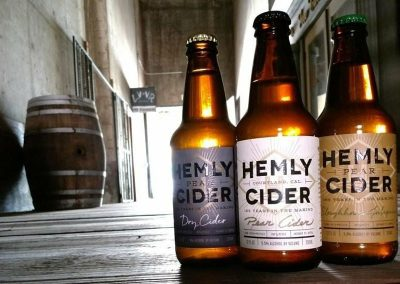 Hemly Cider Labels by All American Label
